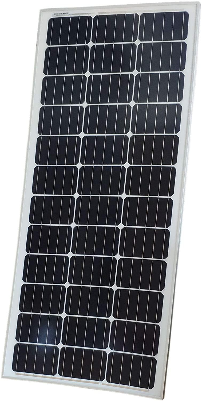 FixtureDisplays 100 Watts 12 Volts Monocrystalline Solar Panel 18339-NF No