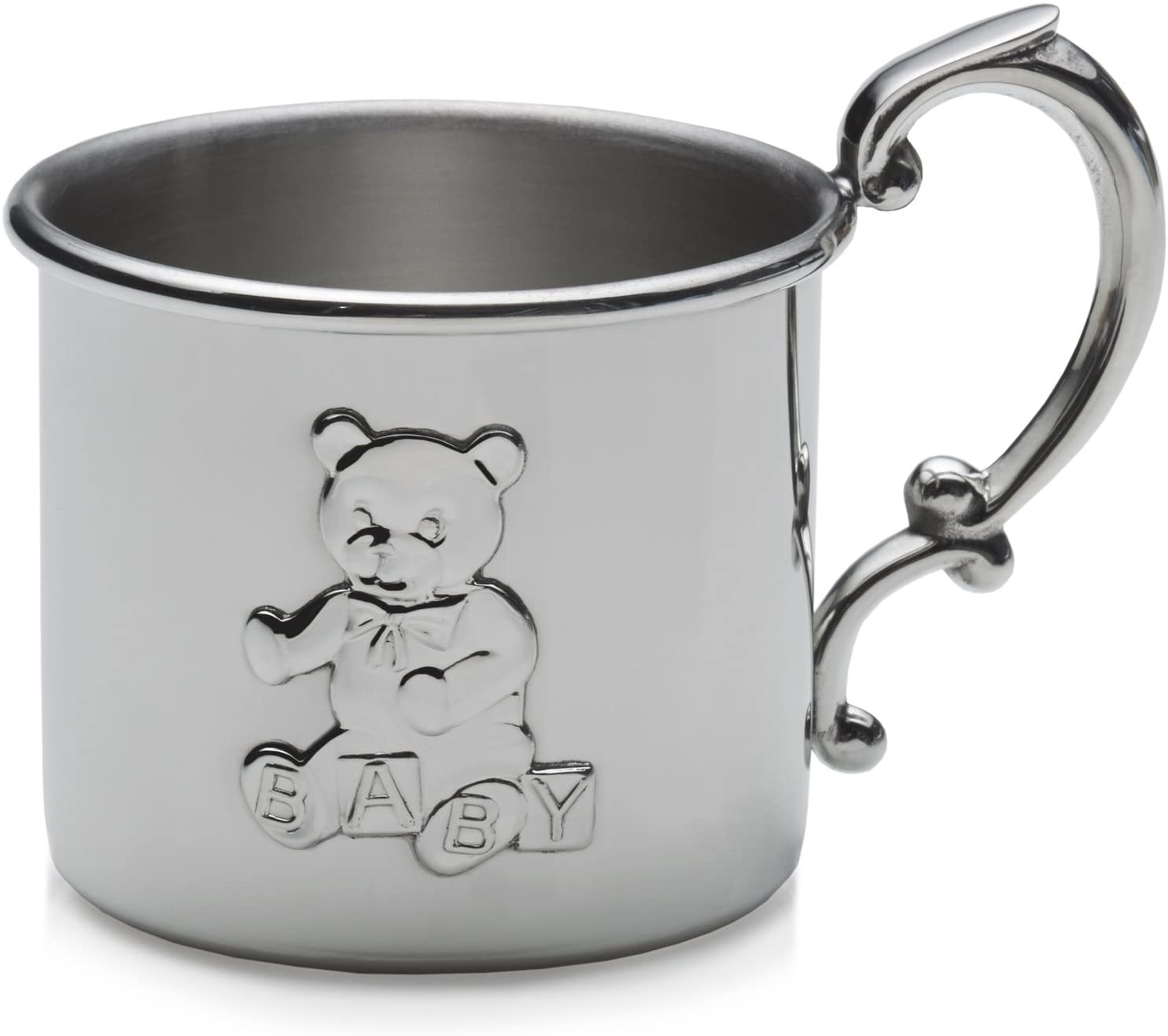 Empire Teddy Bear Pewter Baby Cup