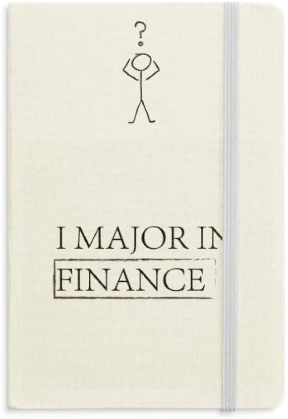 Quote I Major In Finance Question Notebook Classic Journal Diary A5