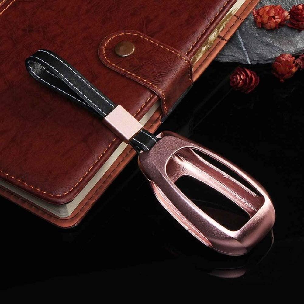 HCZSZH Car Aluminium Alloy Key Holder Cover Case Bag , for Alfa Romeo Giulia Stelvio Key Protection Holes Car Styling