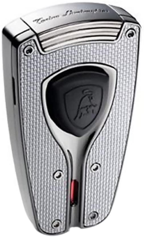 Tonino Lamborghini Forza Gunmetal and Carbon Fiber Torch Flame Lighter