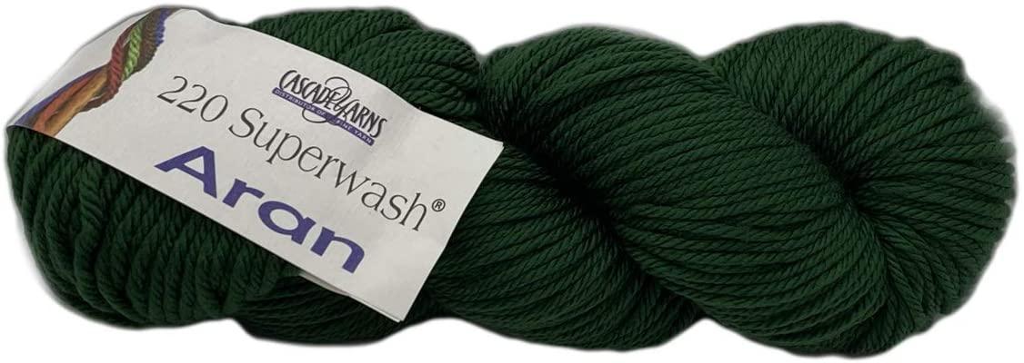 Cascade Yarns 220 Superwash ARAN - Army Green 801