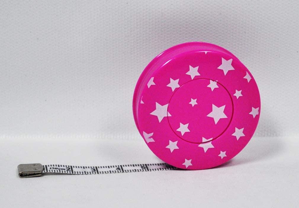 F & F Enterprises Star Tape Measure Pink