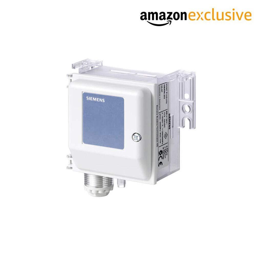 Siemens QBM2030-5 Differential Pressure Sensor for Air & Non-Aggressive Gases (Pressure Range: 0 to 500 Pa) by Instrukart