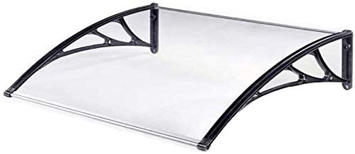 JN Door Canopy Canopies Door Canopy Awning,Door Canopy Awning Shelter Front Back Porch,Door Canopy - PC Polycarbonate Terrace Shade Canopy (Size : 60120cm)