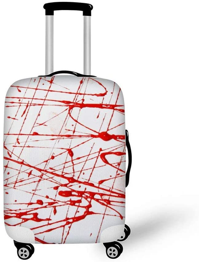 Abstract Painting Fashionable Baggage Suitcase Protector Travel Luggage Cover Anti-Scratch