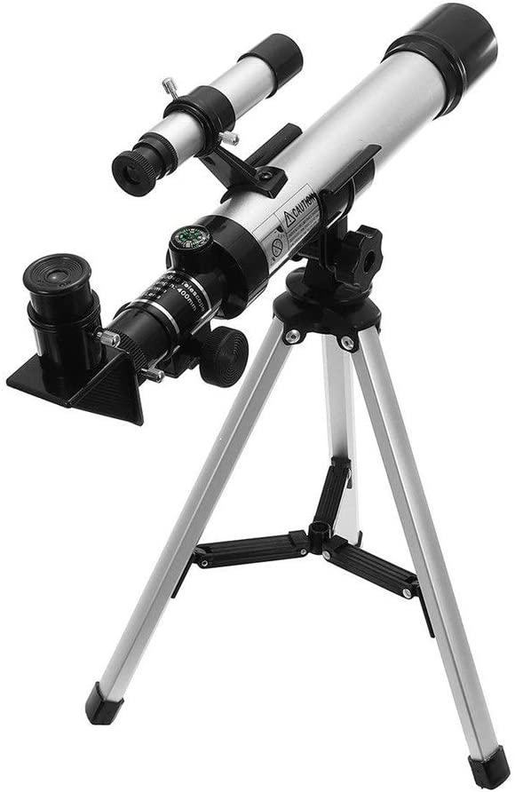 YADSHENG Astronomical Telescope 90X Astronomical Telescope Tripod Viewing Educational Tool Kids Children Gift Refractors (Color : As Shown, Size : 35 x 5cm)