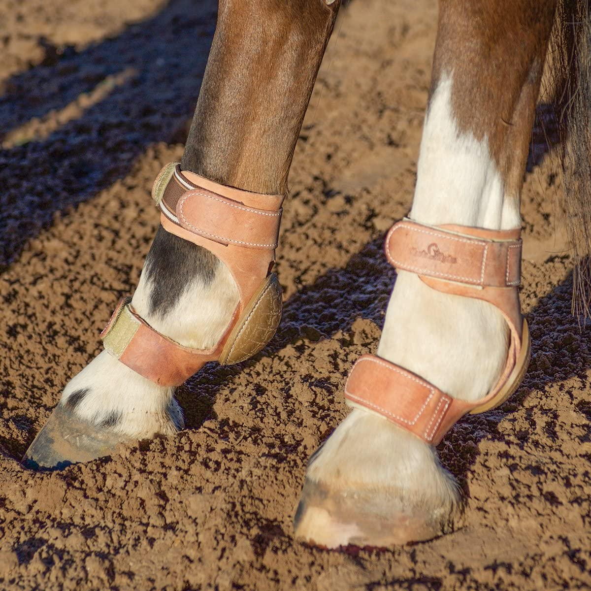 Classic Equine Heavy Duty Performance Skid Boots Hook and Loop