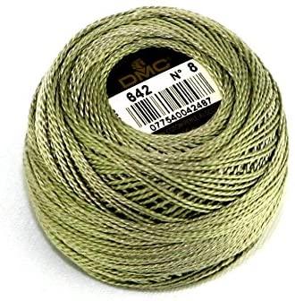 DMC Cotton Perle Thread Size 8 642 - per 10 gram ball