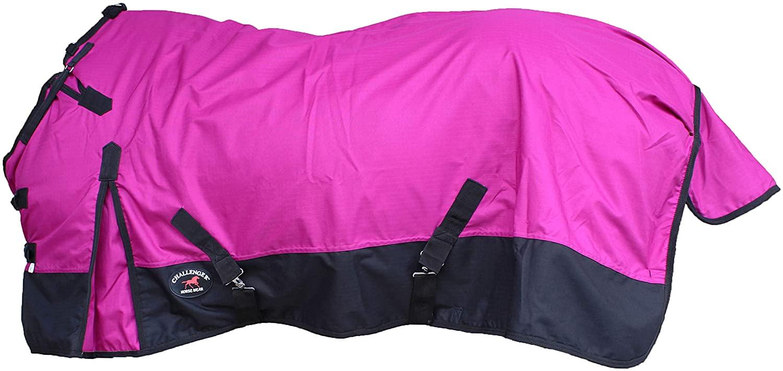 CHALLENGER 1000D Turnout Waterproof Medium Weight Fleece Lined Winter Blanket 107LG