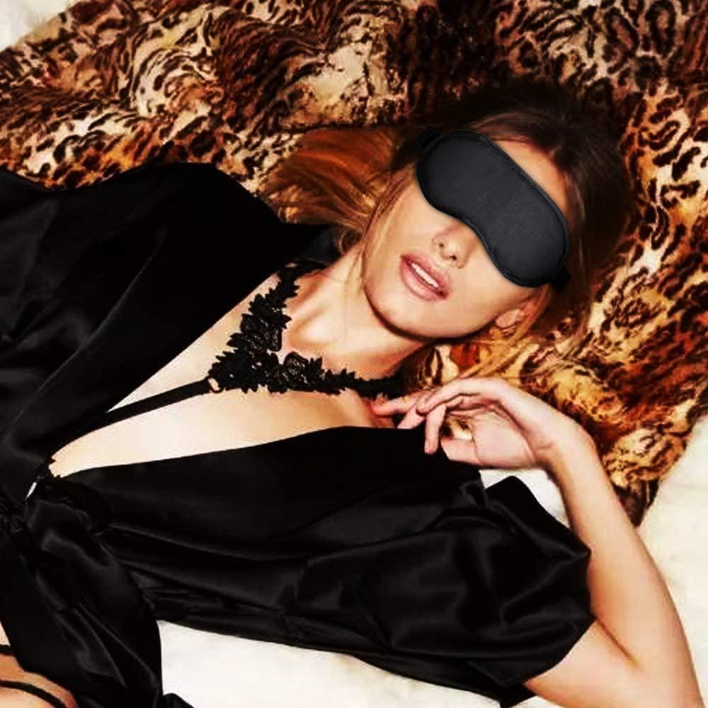 Blindfold Sleeping Mask for Women or Men, Roleplay Eye Mask