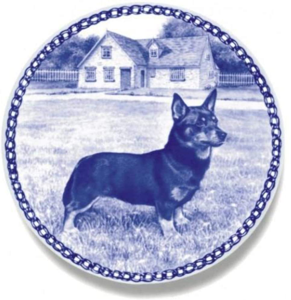 Lancashire Heeler Dog Porcelain Plate For all Dog Lovers Size 7.61 inches