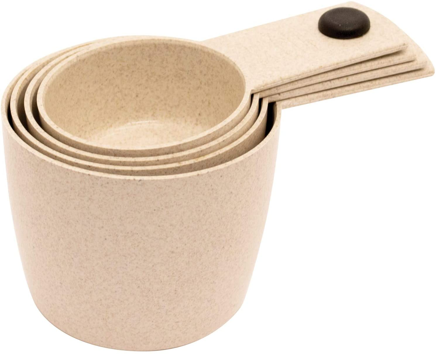 Gourmet By Starfrit T080284 ECO Measuring Cup Set, One Size, White