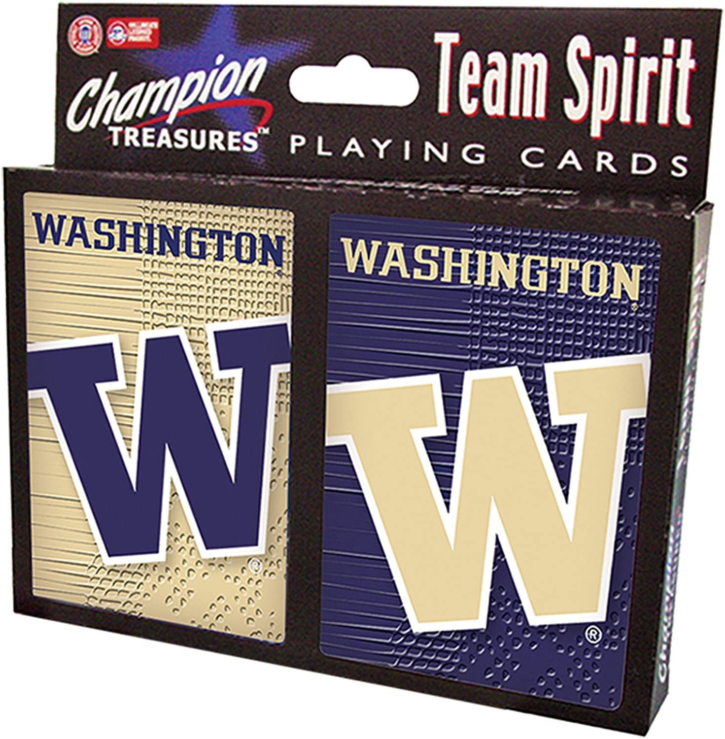 NCAA Washington Huskies 2 Pack Playing Card Set