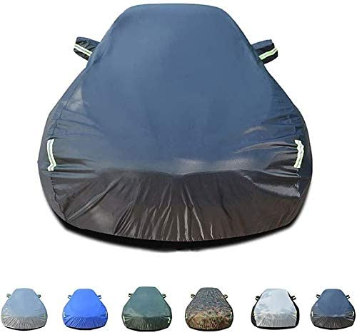 Lifeilsd Breathable Full Car Cover, Heavy Duty Fully Waterproof Windproof Dustproof UV Resistant,Oxford Cloth Cover,Suitable for A-UDI A7 Car All Weather Protector, 6 Colors Optional