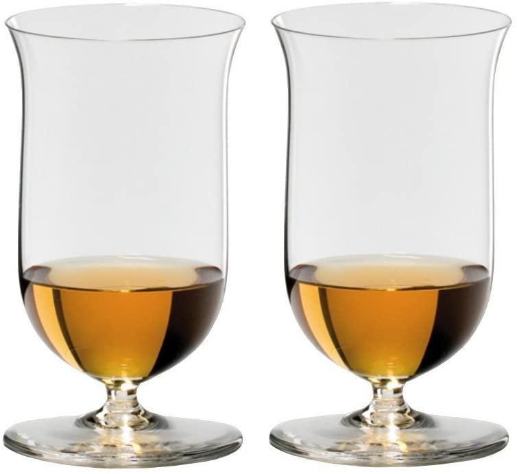 Riedel Sommeliers 7 Ounce Single Malt Whisky Bar Glass, Set of 2