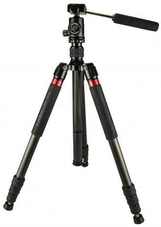 Nightforce Optics Carbon Fiber Tripod with Ball Head, Maximum Height 64