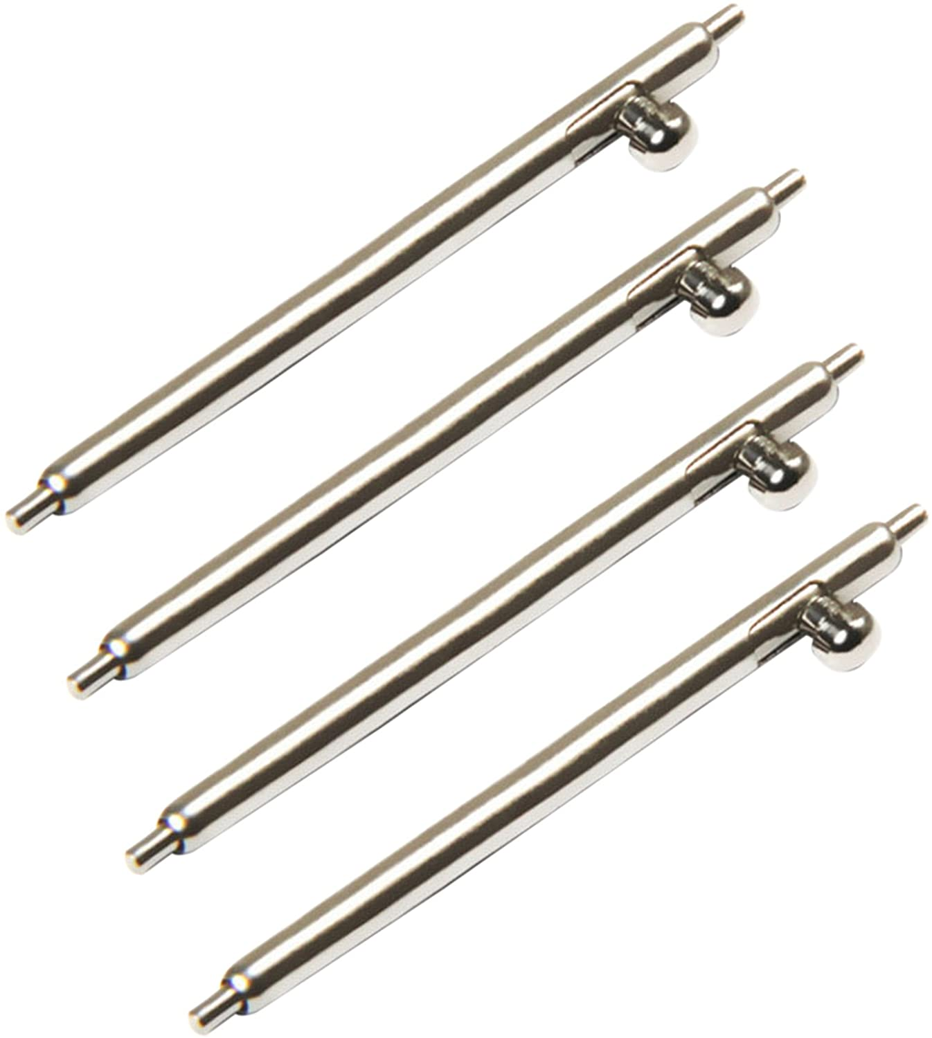 14-24mmx1.5mm High-end Stainless Steel Quick Release Spring Bars with Lever for Watch Band(4 Pieces pins)