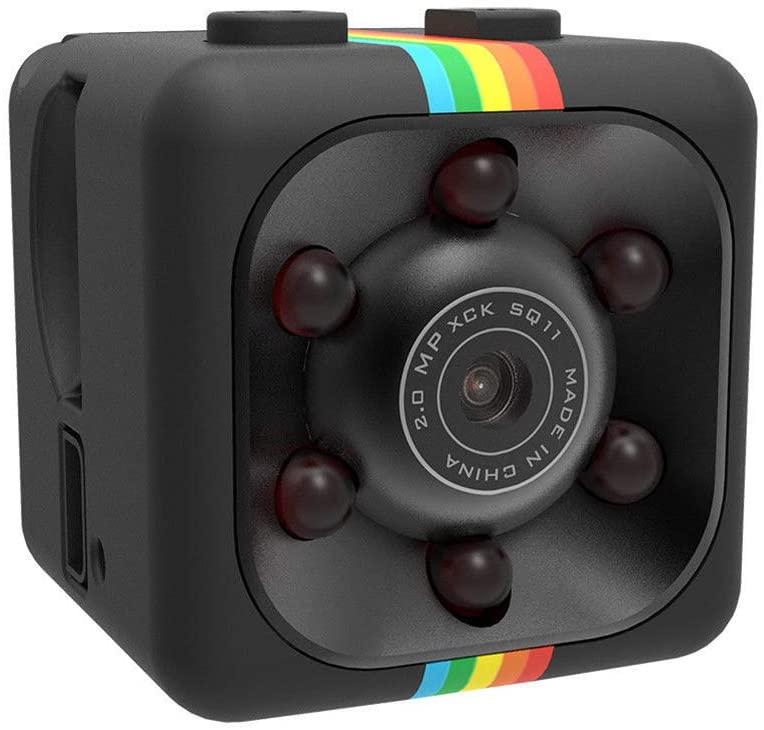 Action Cycling Outdoor Camera - LTra5jCCun SQ11 Portable 1080P Sports Mini DV Camera Night Version Video Recorder Camcorder - Black