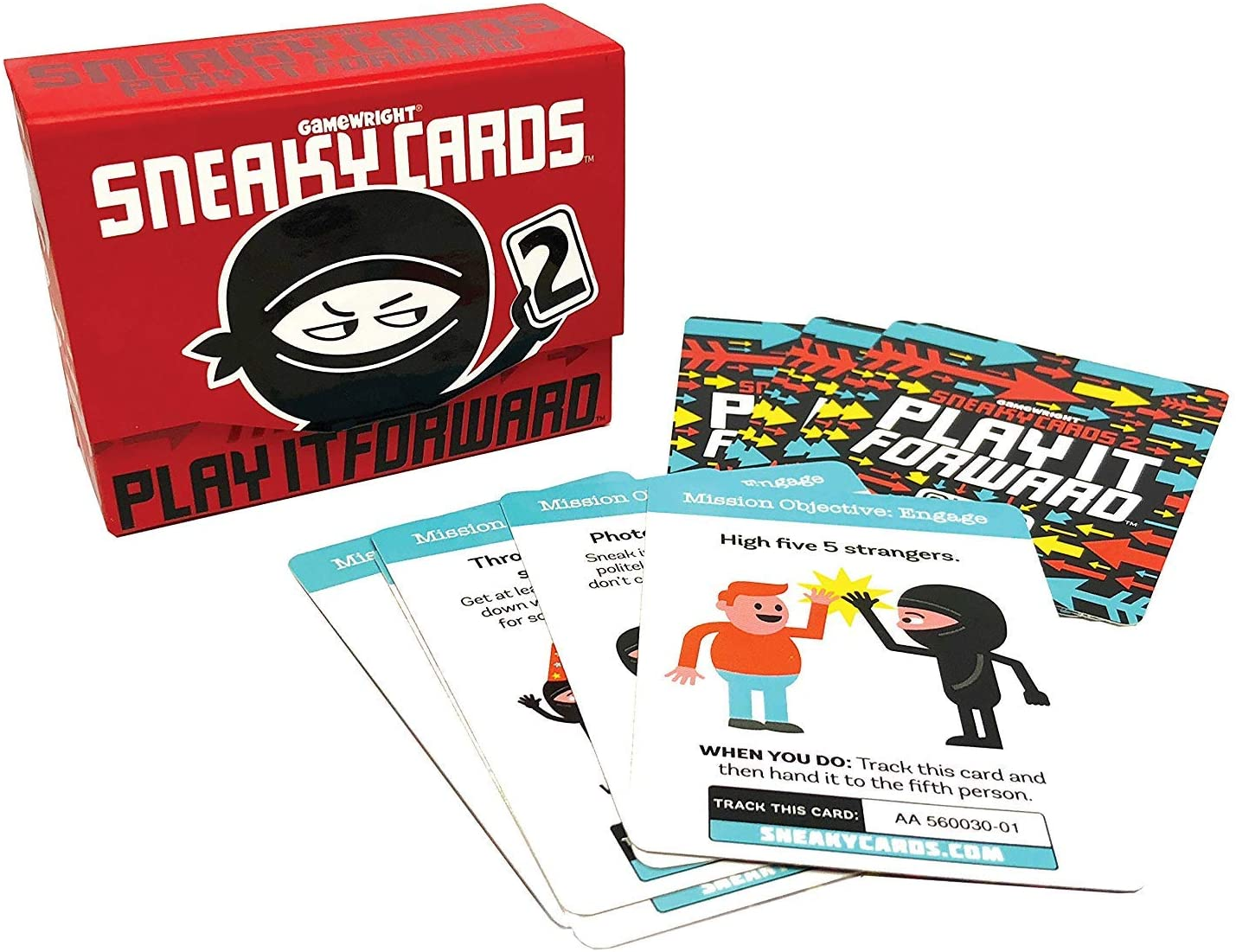 Gamewright  Sneaky Cards 2 - Play It Forward