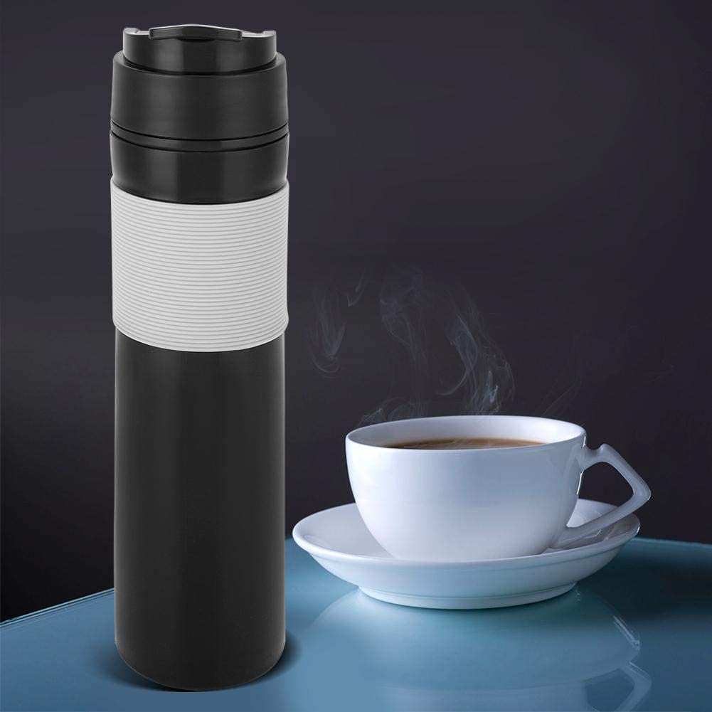 Coffee Cup, Coffee Pot with Lid Anti-rust Household Water Bottle, Travel Camping for Outdoor for Office Car Use