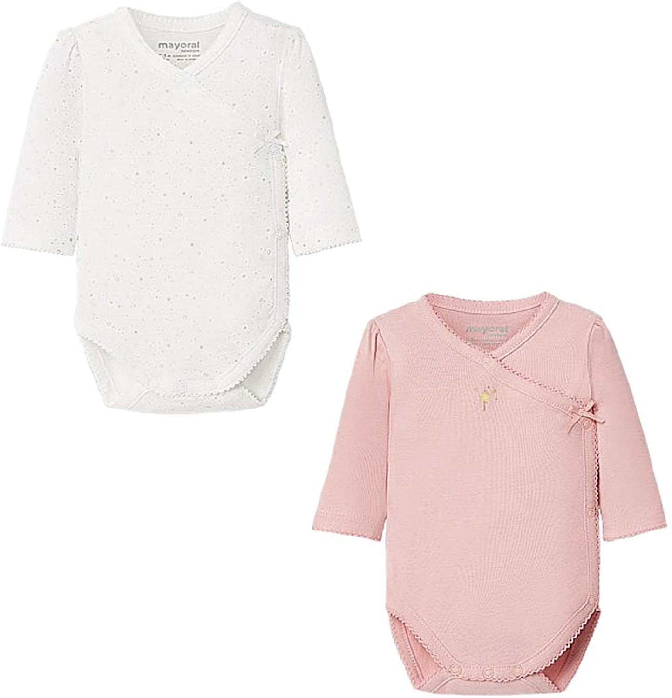 Mayoral - Set 2 Bodys for Baby-Girls - 2750, Blush