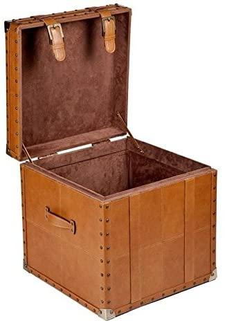 Artikle Leather Storage Trunks