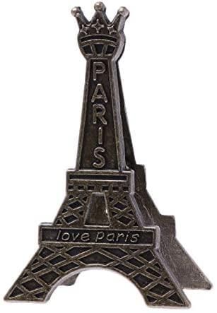 Clips Vintage Eiffel Tower Paris Metal Memo Paper Clip for Message Decoration Photo Office School Supplies