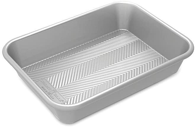 Nordic Ware Natural Prism Bakeware Pan, 9x13, Silver