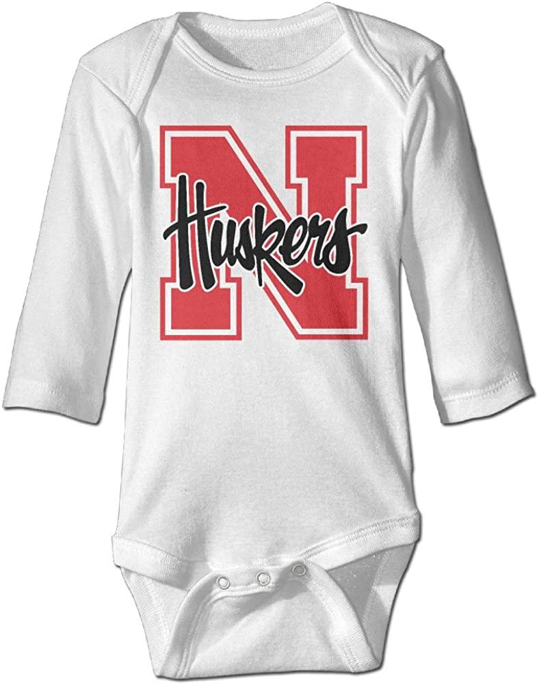 OOKOO Baby's University Of Nebraska Cornhuskers Bodysuits Navy