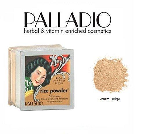 3 Pack Palladio Beauty Rice Powder RPO8 Warm Beige