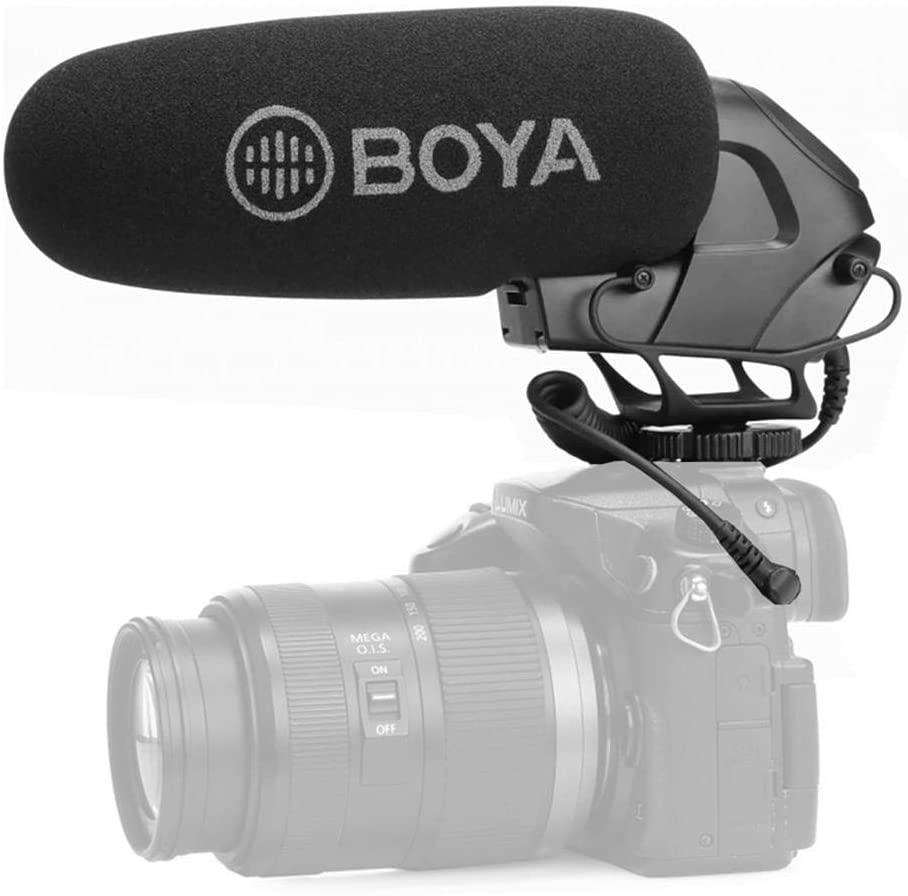 BOYA BY-BM3032 Directional On-Camera Super-Cardioid Shotgun Microphone
