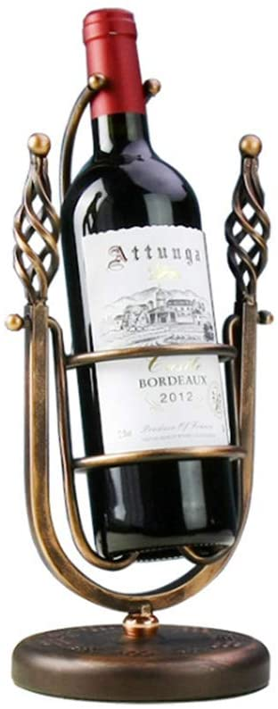L.HPT Wine Rack, Wrought Iron Metal Swinging Wine Rack Decoration Cup Holder Wine Rack European Hanging Cup Holder Wine Glass Holder Household Wine Rack Wine Glass Holder