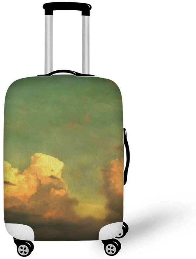 Cloudy Sky Fashionable Baggage Suitcase Protector Travel Luggage Cover Anti-Scratch