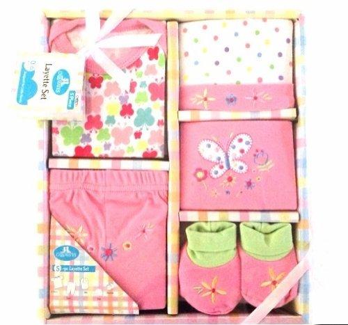 Regent Baby Crib Mates Gift Set CM3570, Blue/Pink