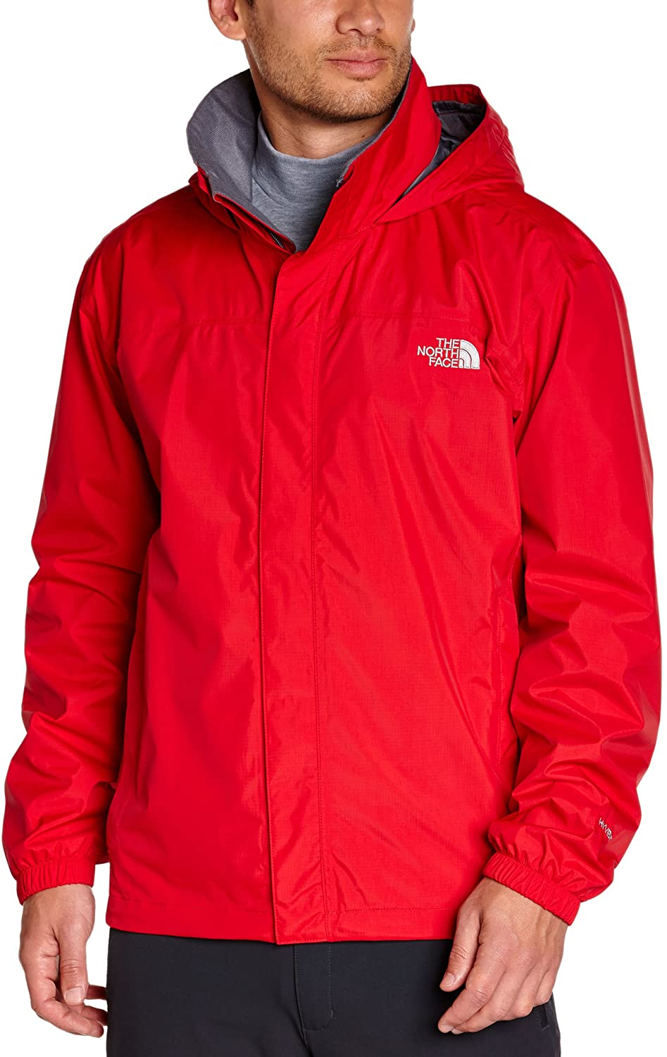 The North Face Mens Resolve Jacket, TNF Red, 2XL