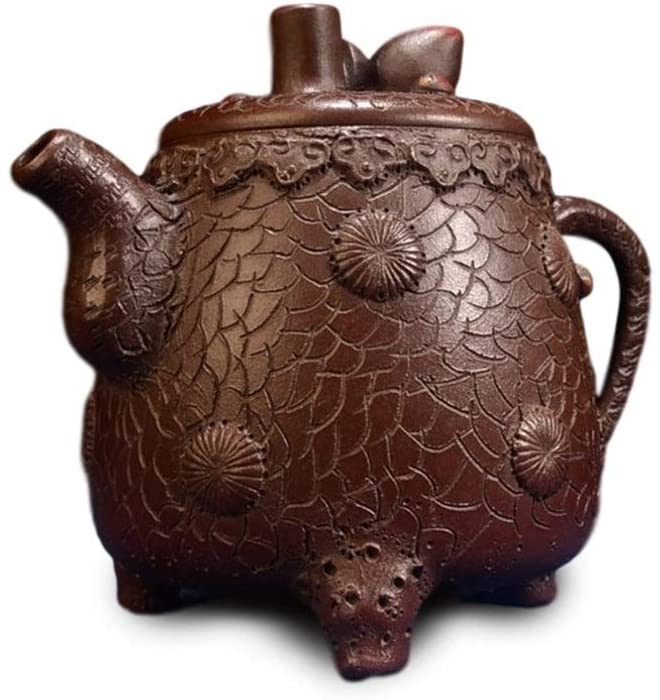 MADONG teapot bark of pine needles (Color : Brown)