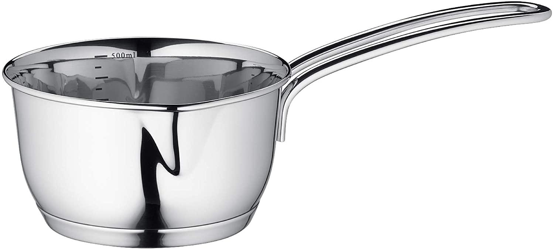 Küchenprofi Stainless Steel Saucepan with Clad Bottom, 16-Ounce
