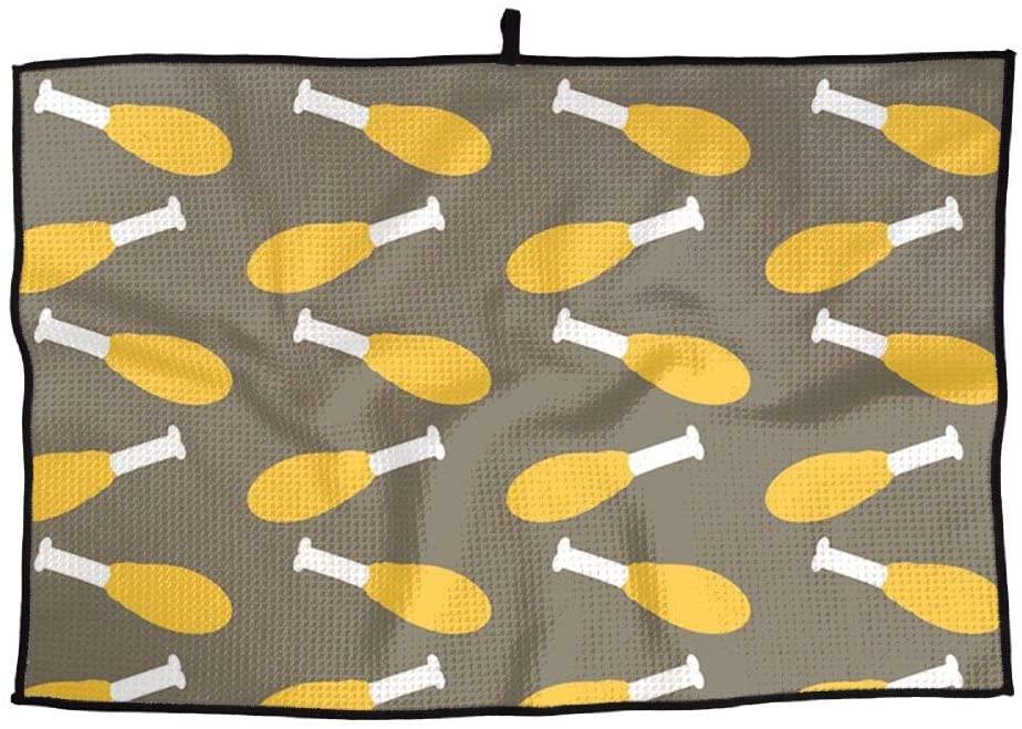 SHARP-Q Drumstick Premium Golf Towel Fashion Towel