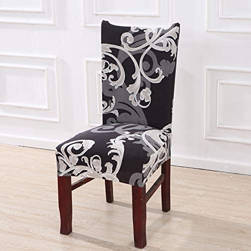 mmwq Floral Printing Stretch Elastic Chair Covers Spandex for Wedding Dining Room Office Banquet housse de Chaise Chair Cover