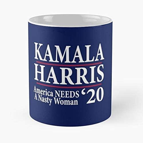 Kamala Harris Nasty Woman Vice President Biden Campaign Classic Mug - 11,15 Oz.
