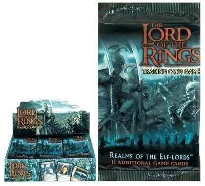 Lord Of The Rings Realms of the Elf Lords Booster Pack