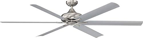 Wind River Fans Exo 70-inch Stainless Ceiling Fan