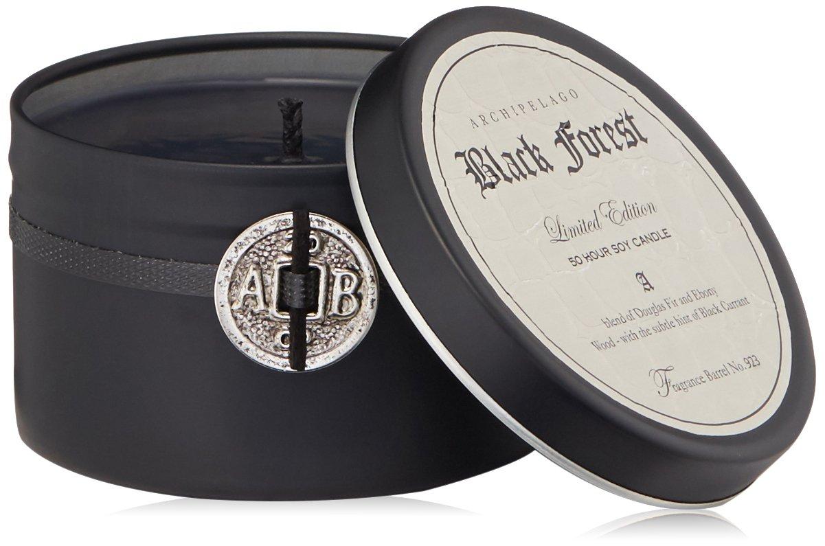 Archipelago Botanicals Black Forest Candle Tin