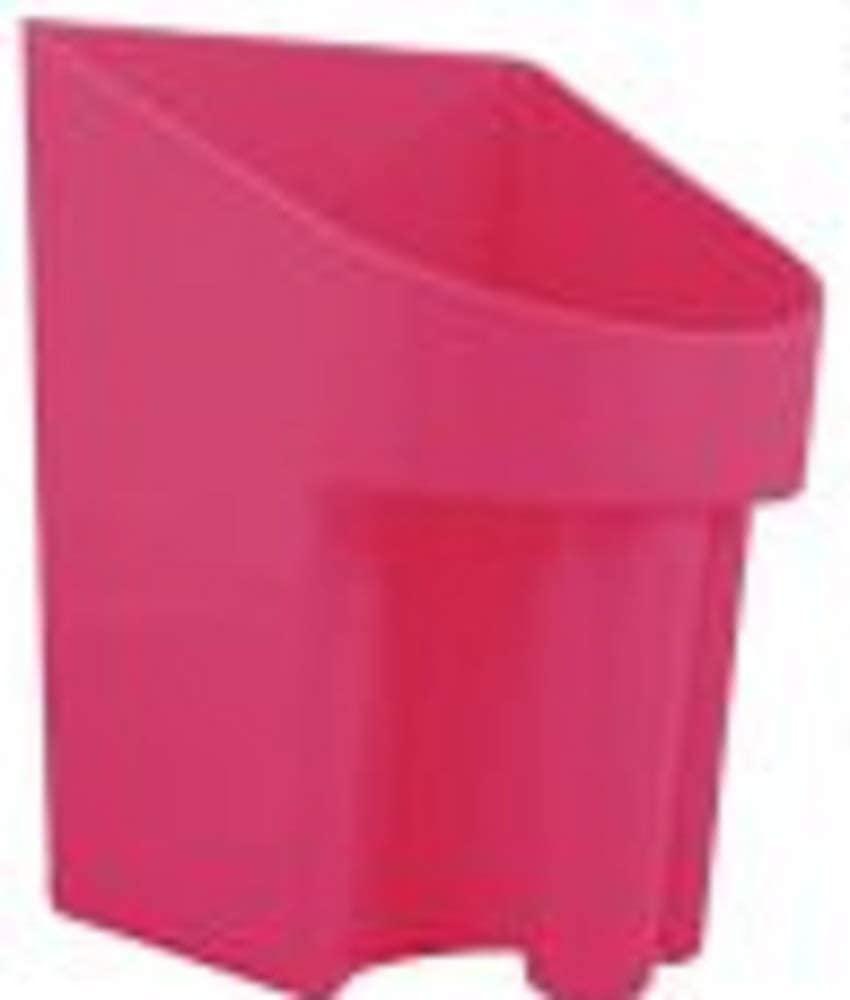 Showman 2 Quart Pink Durable Plastic Liquid Or Dry Product Grain Pellet Supplement Feed Scoop