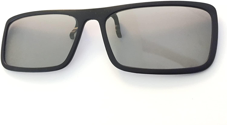 3D Passive Glasses for 3D TVs - CinePro(TM) Circular Polarized Clip-On - 1 Pair