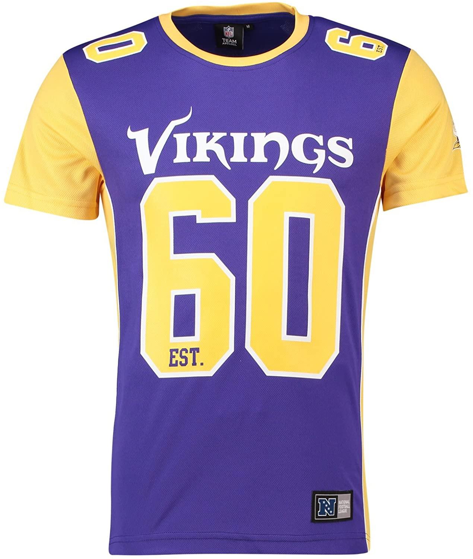 Majestic NFL Mesh Polyester Jersey Shirt - Minnesota Vikings - S