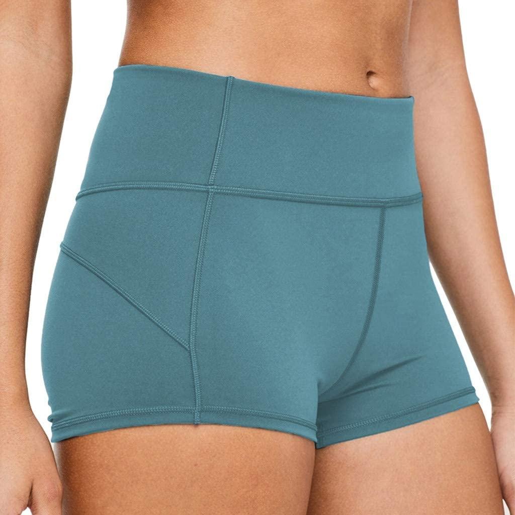 Hessimy womens shorts Shorts Workout Hessimy Women's Stretch Workout Shorts