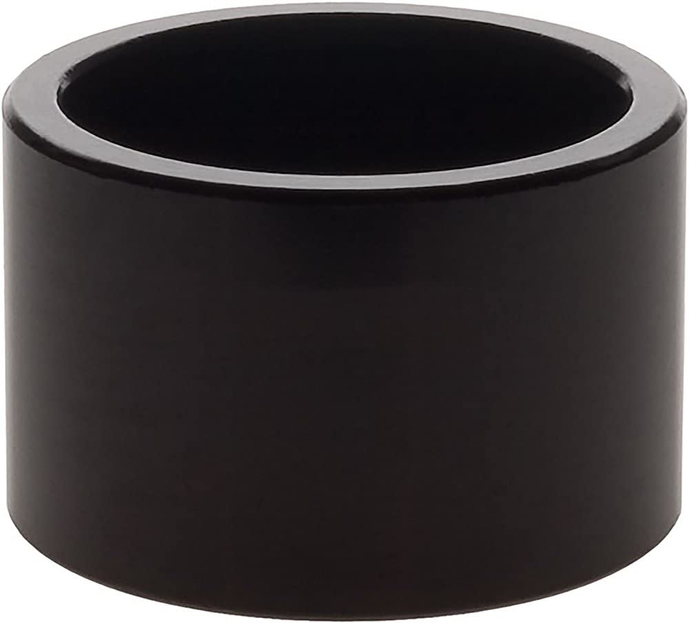 Wheels Manufacturing 1-Inch Spacer (Black/20mm, Bag of 1)