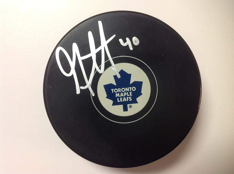 Garret Sparks Signed Puck - a - Autographed NHL Pucks